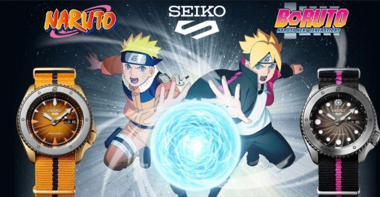 Seiko 5 Sports NARUTO & BORUTO