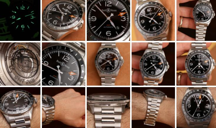 Bell and Ross BR V2-93 GMT Replica Watch