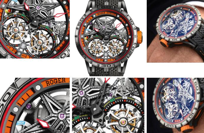 Roger Dubuis Double Flying Tourbillon Watch