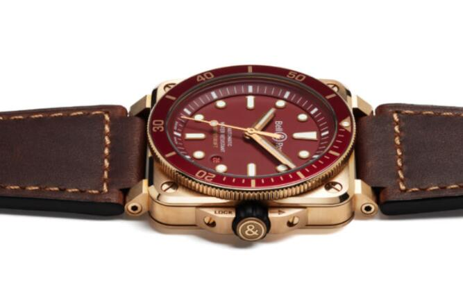 BR 03-92 DIVER RED BRONZE