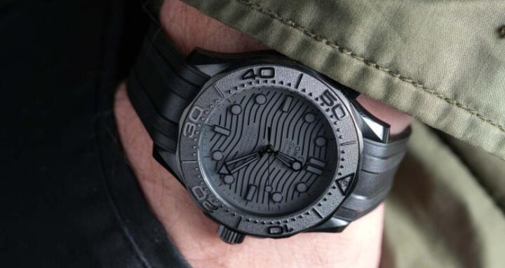 Omega Seamaster Dive 300M Black Black Ceramic Watch