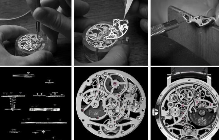 Piaget Altiplano Ultra Thin Skeleton Replica