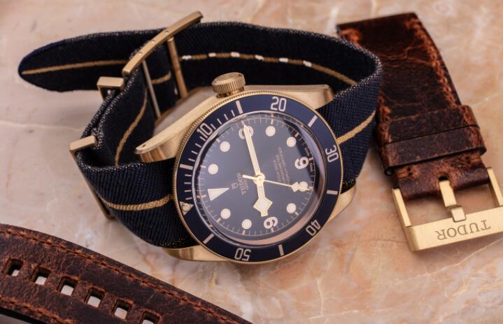 Tudor Black Bay Bronze Bucherer Blue Replica 79250BB-0001