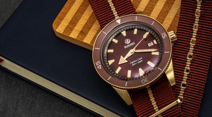 Replica Rado Captain Cook Automatic Bronze
