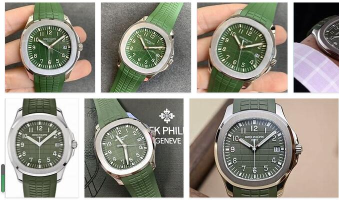 Patek Philippe Aquanaut green
