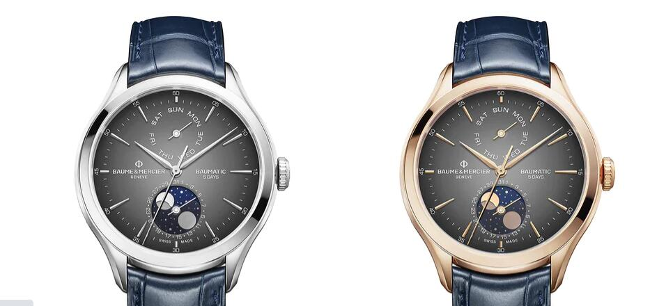 Baume and Mercier moonphase
