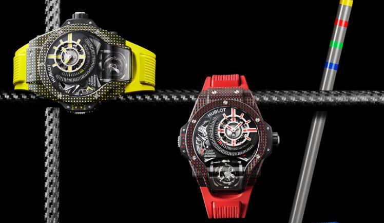 Hublot Unveils Limited-Edition MP-09 Tourbillon Bi-Axis 5 Days Power Reserve 3D Carbon Watch