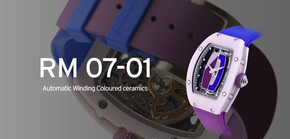 RM 07-01 Automatic Winding Coloured ceramics