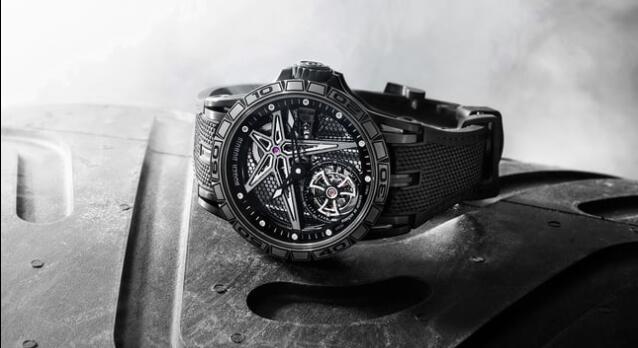 Roger Dubuis Excalibur Spider Pirelli Black DLC Titanium